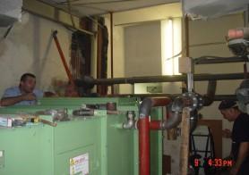Sustitución de climatizadores en hospital La Fe (Antigua)